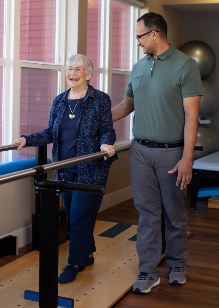 Rehabilitation Therapy at Penrose Harbor