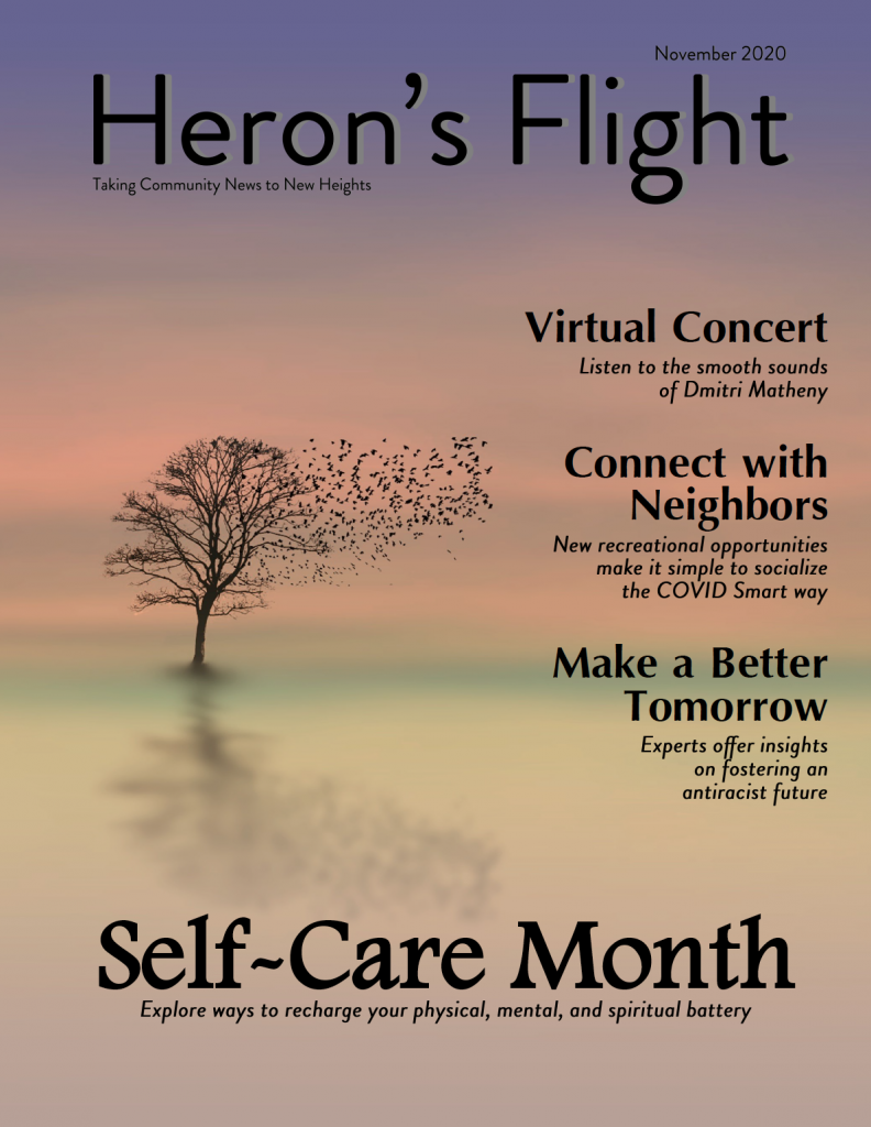 Heron's Flight November Newsletter